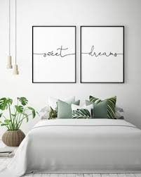 Opting for a 3d element above your bed will make the decor visually jump off the wall in your bedroom. 29 Bedroom Wall Art Above Bed Ideas Bedroom Wall Above Bed Art Above Bed