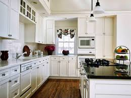 White Appliances In Kitchen Cool Kitchen Paint Colors With White Cabinets Some Enjoyable