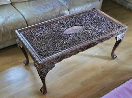 antique vintage coffee table anglo
