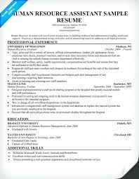 Hr Assistant Resume Sample Human Resource Assistant Resume Hr Hr ...