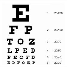 18 Detailed Eye Examination Chart Download