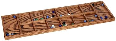 Wooden Board Game With Marbles Mancala Game with Marbles 62