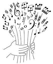 Des Sports Note De Musique Coloriage Note De Musique Colorier