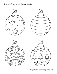 We are always adding new ones, so make sure to come back and check us out or make a suggestion. Christmas Tree Ornaments Free Printable Templates Coloring Pages Firstpalette Com