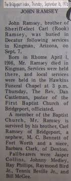 Obituaries from the Bridgeport Index Newspaper (1976-2010) Last Names R-S