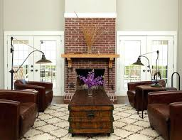 fireplace mantels on brick elegant living room photo in with beige walls a standard fireplace a