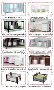 Best Cribs Best 10 Baby Cribs Reviews In 2017 For New Buyers