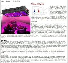 Grow Lights Massachusetts What Customer Talking About Phlizon Led Grow Lights