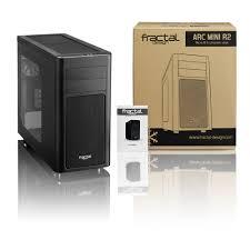 Fractal Design Arc Mini Microatx Fractal Design Arc Mini R2 Fd Ca Arc Mini R2 Bl W