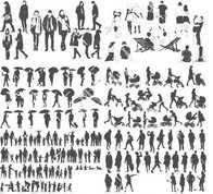 矢量人物素材下载矢量人物素材设计矢量人物素材制作素材 淘宝海外