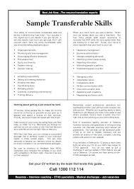 List Of Skills For Resume Transferable Skills Resume List Some Best Skills List For Resume