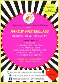 makeup mastercl with ruthika modi