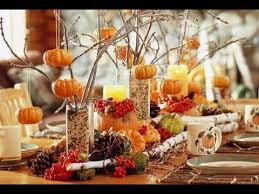Simple Fall Table Decorations