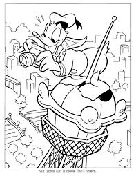 Kleurplaten Donald Duck Gezicht