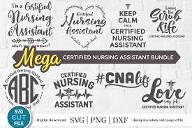 Curated free design resources to energize your creative workflow. Cna Svg Bundle 8 Certified Nursing Assistant Svg Files 601123 Cut Files Design Bundles
