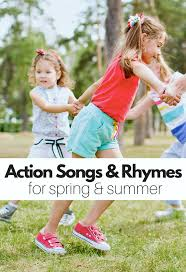 21 action songs and rhymes that