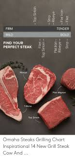 Tender Firm Bold Mild Find Your Perfect Steak