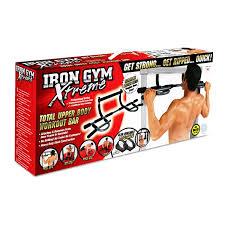 Amazon Com Iron Gym Total Upper Body Workout Bar Extreme