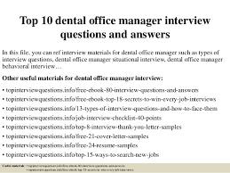 Dental Office Manager Resume Resume Templates