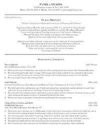 Resume Sample For Nursing Resume Sample For Nursing Resume Examples