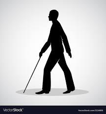 Blind man Royalty Free Vector Image - VectorStock