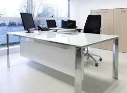 modern glass office desk. Special Interior And Furniture: Ideas Terrific Modern Glass Desk Style Office All Desks M
