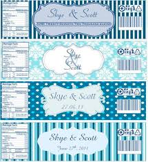 Water Bottles Templates Water Bottle Labels Now With Templates Wedding Water