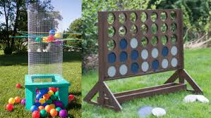 Wooden Yard Games 100 Giant Yard Games You Can DIY from Yahtzee to Kerplunk 76