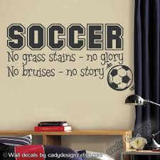 soccer wall decor
