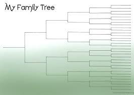 Genealogy Family Tree Forms Blank Descendancy Charts Energycorridor Co
