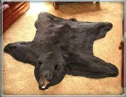 bear fur rug faux animal hide rugs sheepskin rug furry area rugs fur rug large