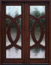 double front doors with glass contemporary entry doors olympus