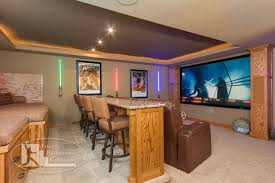 themed family rooms interior home theater: star wars themed home theater traditional basement