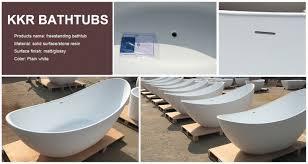 faux clawfoot tub resin bathtubs solid surface alcove bathtub