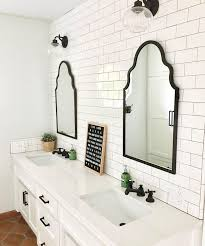 black framed bathroom mirrors. Black Framed Mirror Bathroom House Decorations Within Wood For Mirrors Designs 14 M