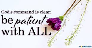 """Be Patient"""" Bible Verses: Scriptures on Patience and Trusting God"""
