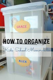 diy organizing ideas for kids rooms organize kids school memorabilia easy storage projects