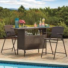 most durable outdoor furniture immense stratford wicker bar backyard wine glass holder home design ideas