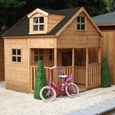 deluxe jumbo kids two y wooden playhouse with porch 343 p jpeg