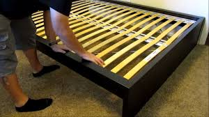 IKEA Malm high bed assembly DETAILED