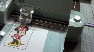 Print and Cut with Cricut Explore - YouTube