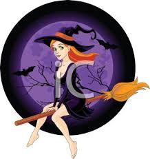 Image result for christmas witches riding brooms animated