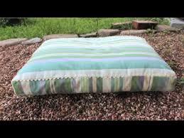 Dog Bed Patterns Best Dog Bed Tutorial On Threadbanger Whitney Sews YouTube