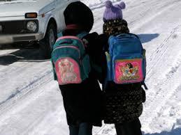 Из за морозов в понедельник отменили школьные занятия в Северном  Все школьники Астаны учатся во вторник