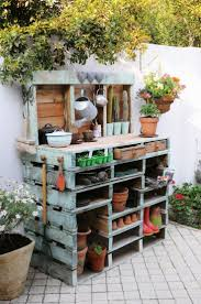 Potting Table The 25 Best Pallet Potting Bench Ideas On Pinterest Potting