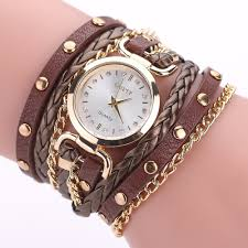 gaiety g368 women watch wrap around leather band quartz watches