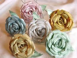 Recycled Flower Paper Monopoly Money Paper Rose 7 Flower Assortment Recycled Paper Flowers Bouquet