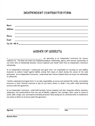 Liability Waiver Form Template Template Hold Harmless Template Contract Free Templates Contractor 11