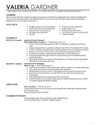 Retail Manager Resume Examples Photo Studiootb