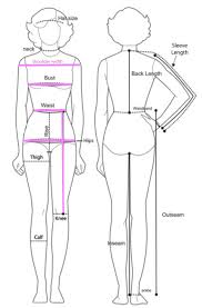 Woman Body Measurement Chart Office Depot Online
